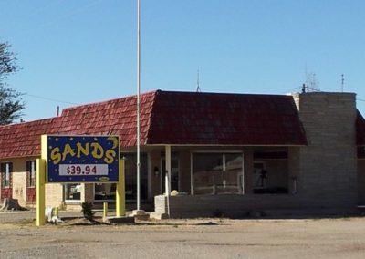 Sands Motel, Vaughn NM (Grombacher)